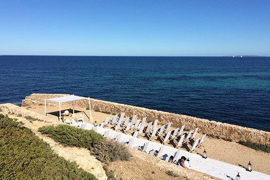 Planificación bodas en la playa Ibiza