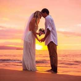 Organizador de bodas en Ibiza, playa atardecer