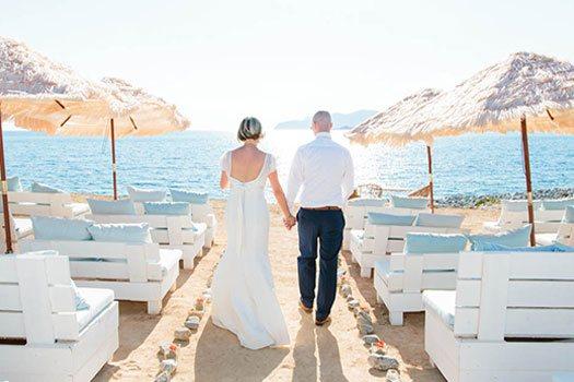 Organización bodas en la playa Ibiza