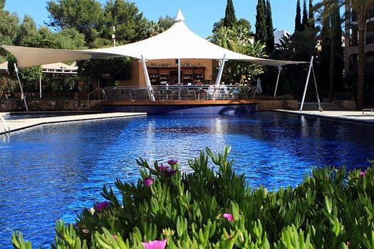 Preciosa ubicación Ibiza, organización eventos corporativos y privados